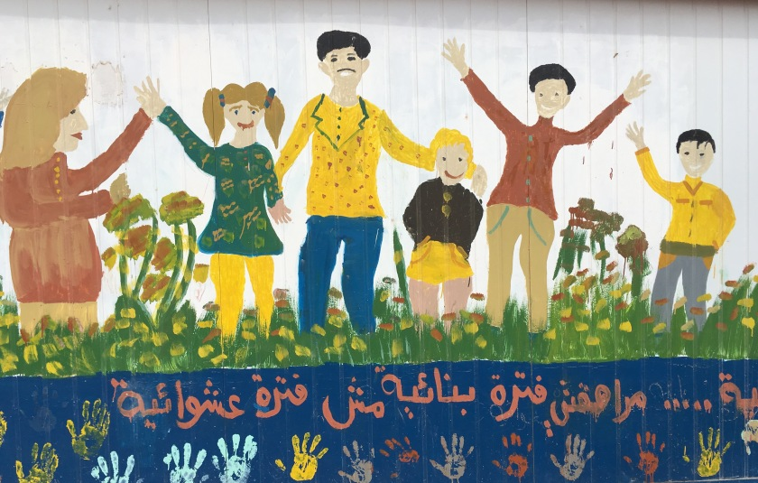 Youth-Transitions-Manchester-mural-Zaatari-camp